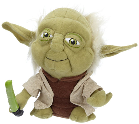 Comic Images Super Deformed Yoda Plush Toy - WarehouseSpot