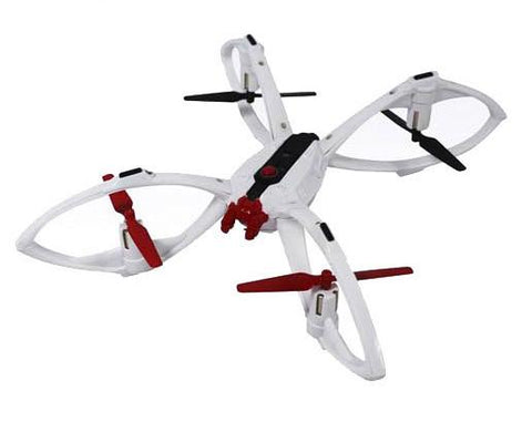 Saturn Tarantula 2.4G R/C 1:14 Scale Drone, White - WarehouseSpot