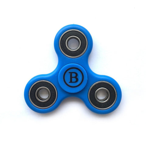 Fidget Hand Spinner High Speed Steel Bearing, ADHD Focus Anxiety Relief Toy - Blue - WarehouseSpot