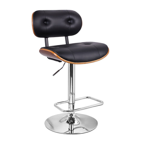 Furnistars Vittangi Modern Bar Stool with Back - Peazz.com