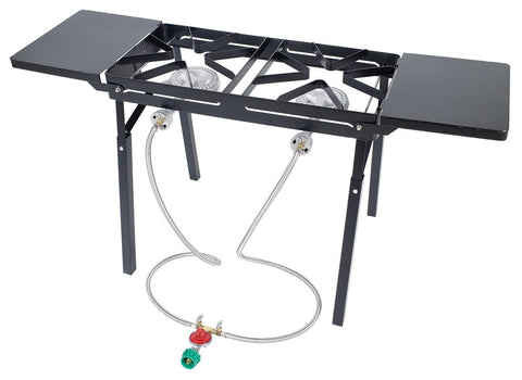 Bayou Classic Dual Burner Patio Stove - WarehouseSpot
