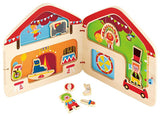 Hape Big Top Circus Magnetic E3017 Playscapes - WarehouseSpot