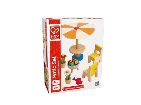Hape Patio Set  E3460 Happy Family - WarehouseSpot