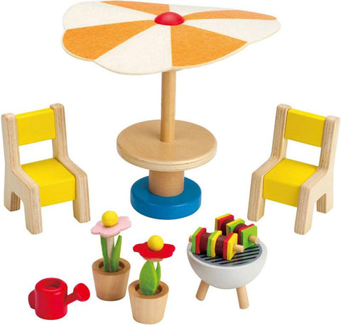 Hape Patio Set  E3460 Happy Family