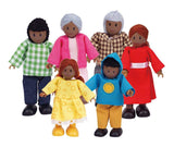 Hape Happy Family - African American  E3501 Happy Family