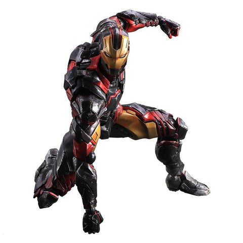 "Sen-ti-nel ENX32248 Iron Man Variant ""Marvel Comics"" Play Arts Action Figure - Peazz.com - 1"