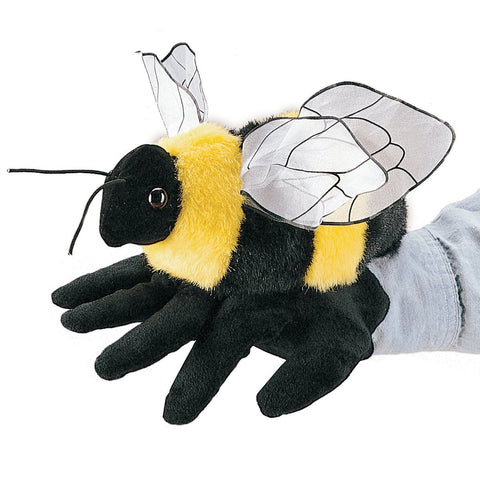 Folkmanis 2044 Bee Glove Hand Puppet - WarehouseSpot