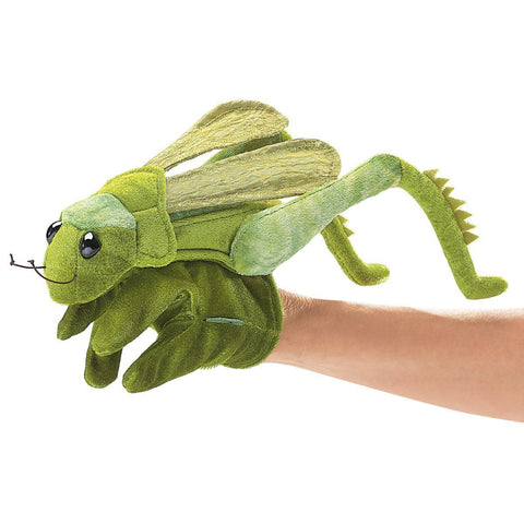 Folkmanis 2978 Grasshopper Glove Hand Puppet - WarehouseSpot