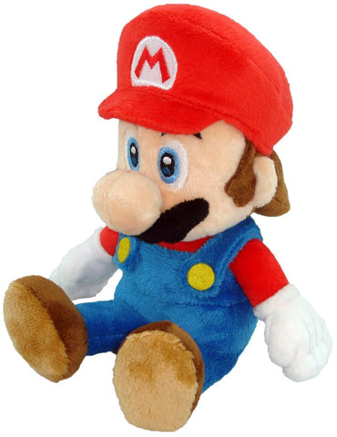 "Nintendo Official Super Mario Plush, 8"" - Peazz.com"