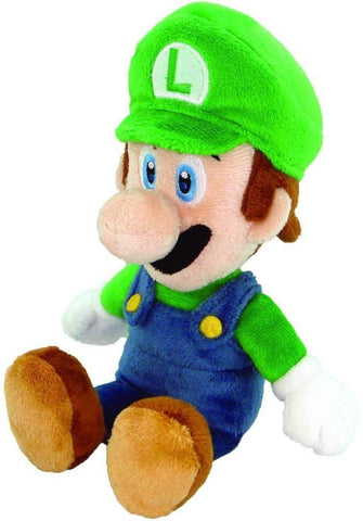 "Nintendo Official Super Mario Luigi Plush, 8"" - Peazz.com"