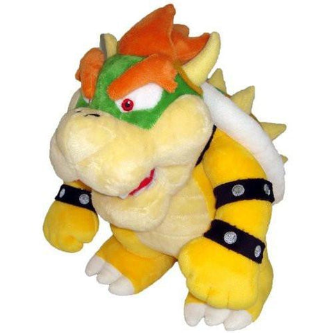 "Nintendo Official Super Mario Bowser Plush, 10"" - Peazz.com"