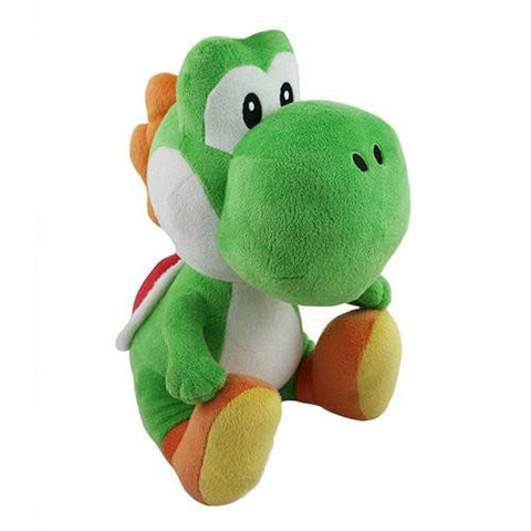 "Nintendo Official Super Mario - Plush - 13"" - Yoshi - Peazz.com"