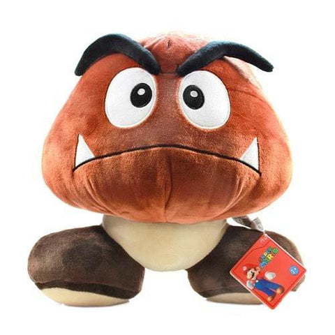 "Nintendo Official Goomba 12"" Plush - Peazz.com"