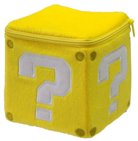 "Nintendo Official Super Mario Coin Box 5"" Plush - Peazz.com"