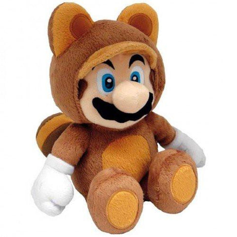 "Nintendo Official Tanooki Mario 12"" Plush - Peazz.com"