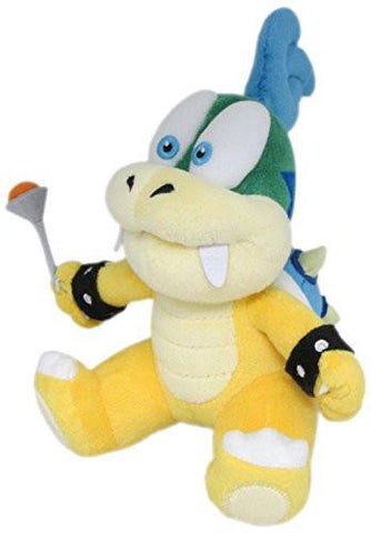 "Nintendo Official Super Mario Series Larry Koopa 7"" Plush - Peazz.com"