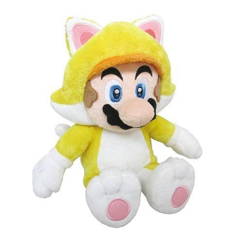 "Nintendo Official Super Mario Cat Mario 12"" - Peazz.com"