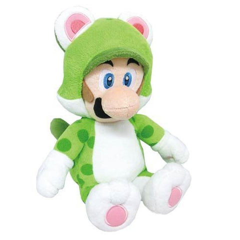 "Nintendo Official Super Mario 3D World 14"" Large Neko Cat Luigi Plush - Peazz.com"