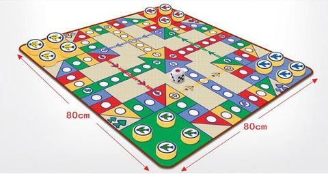 Merske MK10080 Without Taste Flight Chess Floor Game Mat - Peazz.com - 1