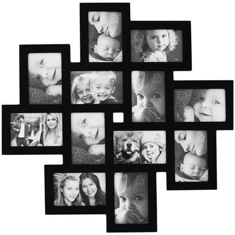 Furnistars 12 Opening Collage Picture Frame - Peazz.com