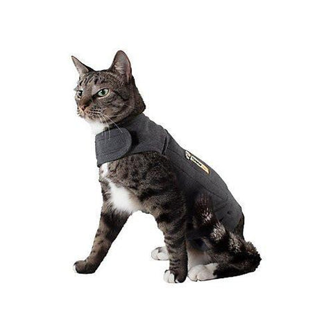 ThunderShirt Cat Large Shirt Grey - Peazz.com