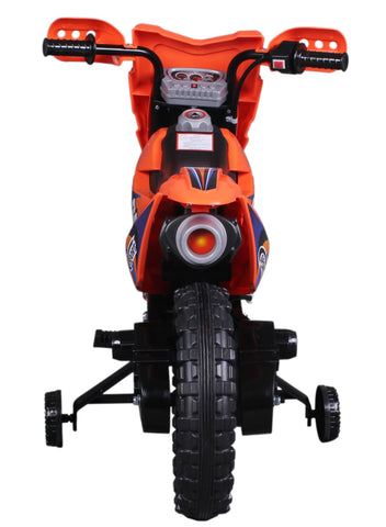 Vroom Rider VR098 Battery Operated 6V Dirt Bike (Orange)