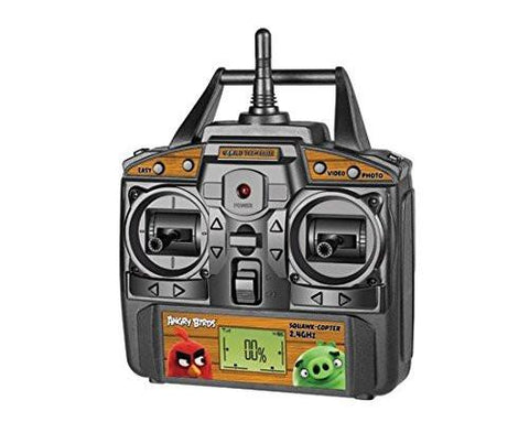 Angry Birds Licensed 4.5-Channel 2.4 GHz Remote Control Camera Drone Squak-Copter - Red - WarehouseSpot