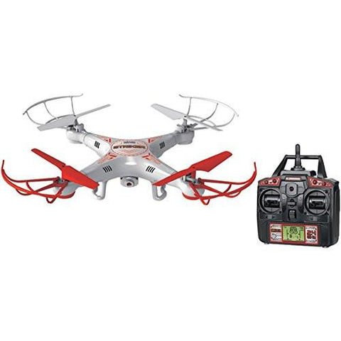 World Tech Toys 2.4 GHz 4.5 Channel Striker Spy Drone Picture & Video Remote Control Quadcopter - WarehouseSpot