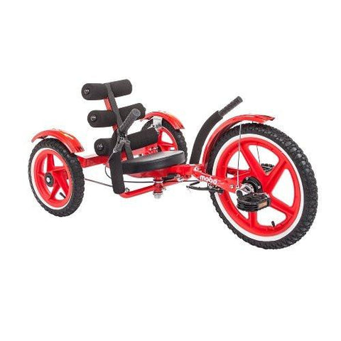 Mobo Cruiser TRI-202R Mobo Mobito Sports (Red) - WarehouseSpot