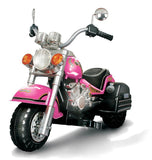 Vroom Rider AL-365-PNK Harley Style Chopper Style Limited Edition Motorcycle - Pink - Peazz.com