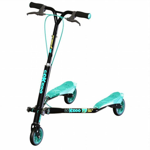 Go-Kiddo GK-T5-BK T5 Carving Scooter