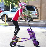 Go-Kiddo GK-T6H-PP GK Colt Electric Carving Scooter - Purple - WarehouseSpot