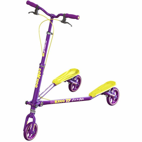 Go-Kiddo GK-T7-PP T7 Carving Scooter - Purple - WarehouseSpot