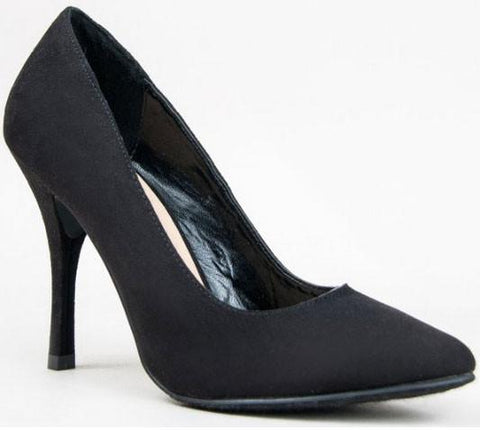 Holly-41 Pointy Toe Pumps - WarehouseSpot
