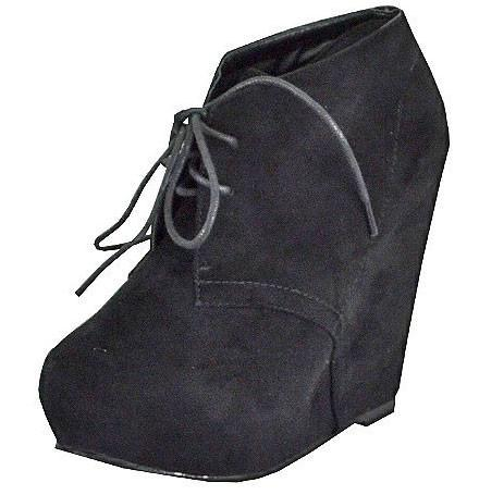 Jenny-13 Ankle Wedge Boot - Peazz.com