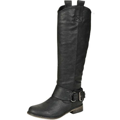 Rider-16 Belted Riding Boot - Peazz.com