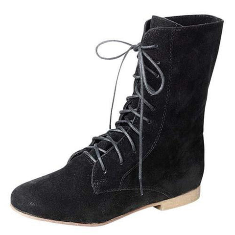 Sandy-62W Lace Up Ankle Boot - WarehouseSpot