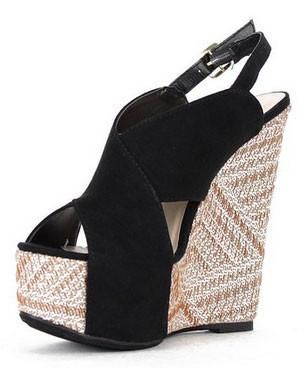 Florence-13 Platform Wedge Sandal - WarehouseSpot