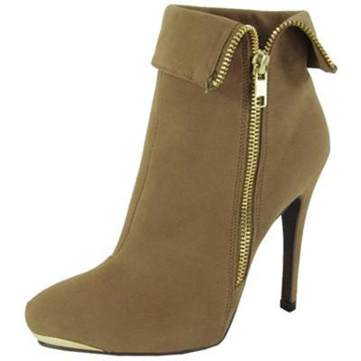 Prevail-25 Cuff Pointy Toe Ankle Bootie - Peazz.com