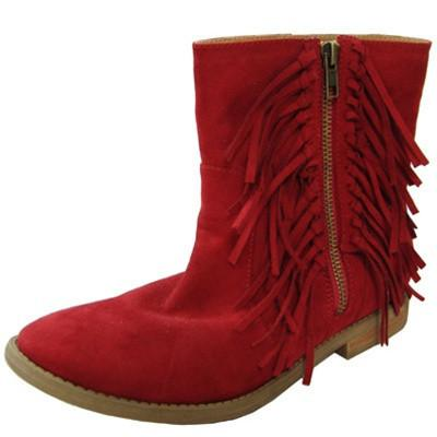 Vance-08 Women Fringe Boot - Peazz.com