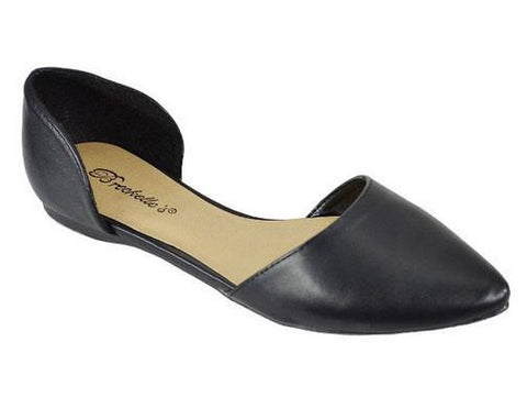 Dolley-22 Pointed Toe Ballet Flats - WarehouseSpot