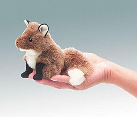 Folkmanis Mini Fox Finger Puppet - 2644 - Peazz.com