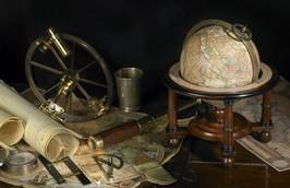 Authentic Models GL023F Navigator's Terrestrial Globe - WarehouseSpot