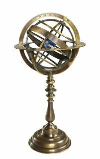 Authentic Models GL052 Bronze Armillary Dial - WarehouseSpot