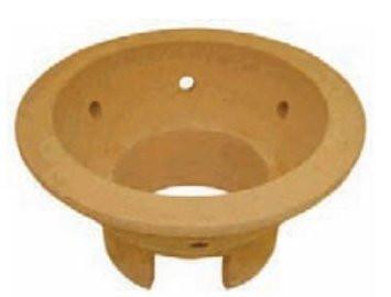 Bayou Classic Ceramic Fire Bowl - For Cypress Ceramic Charcoal Grills - WarehouseSpot