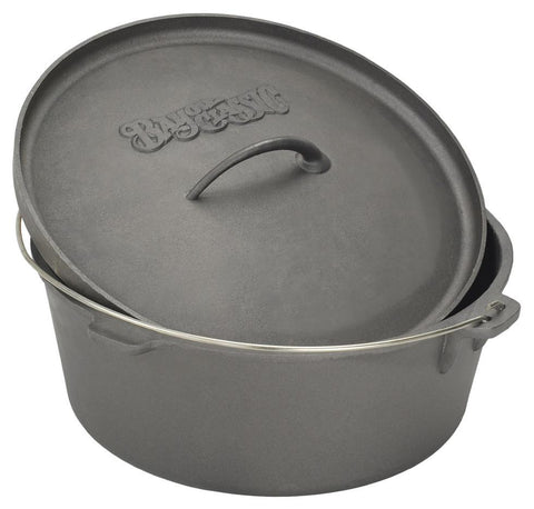 Bayou Classic 4 Quart Cast Iron Dutch Oven - WarehouseSpot