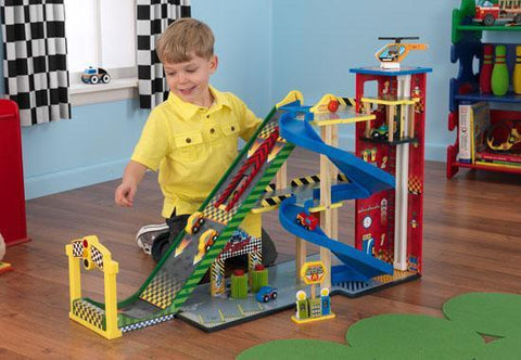 KidKraft 63267 Mega Ramp Racing Set - Peazz.com
