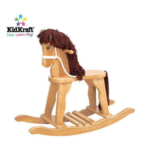 KidKraft Derby Rocking Horse - Natural 19621 - Peazz.com