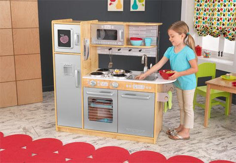 KidKraft 53298 Uptown Natural Kitchen - Peazz.com
