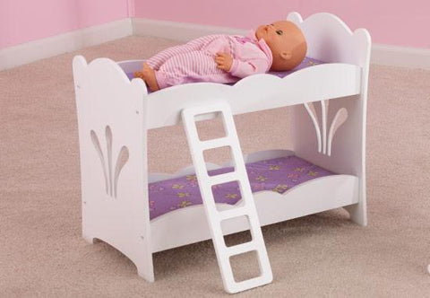 KidKraft 60130 Lil Doll Bunk Bed - Peazz.com